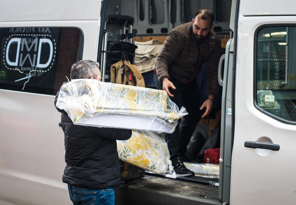 Makkas delivering work for installation